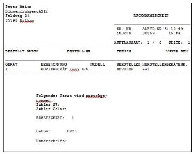 zusammende meldung formular in datev